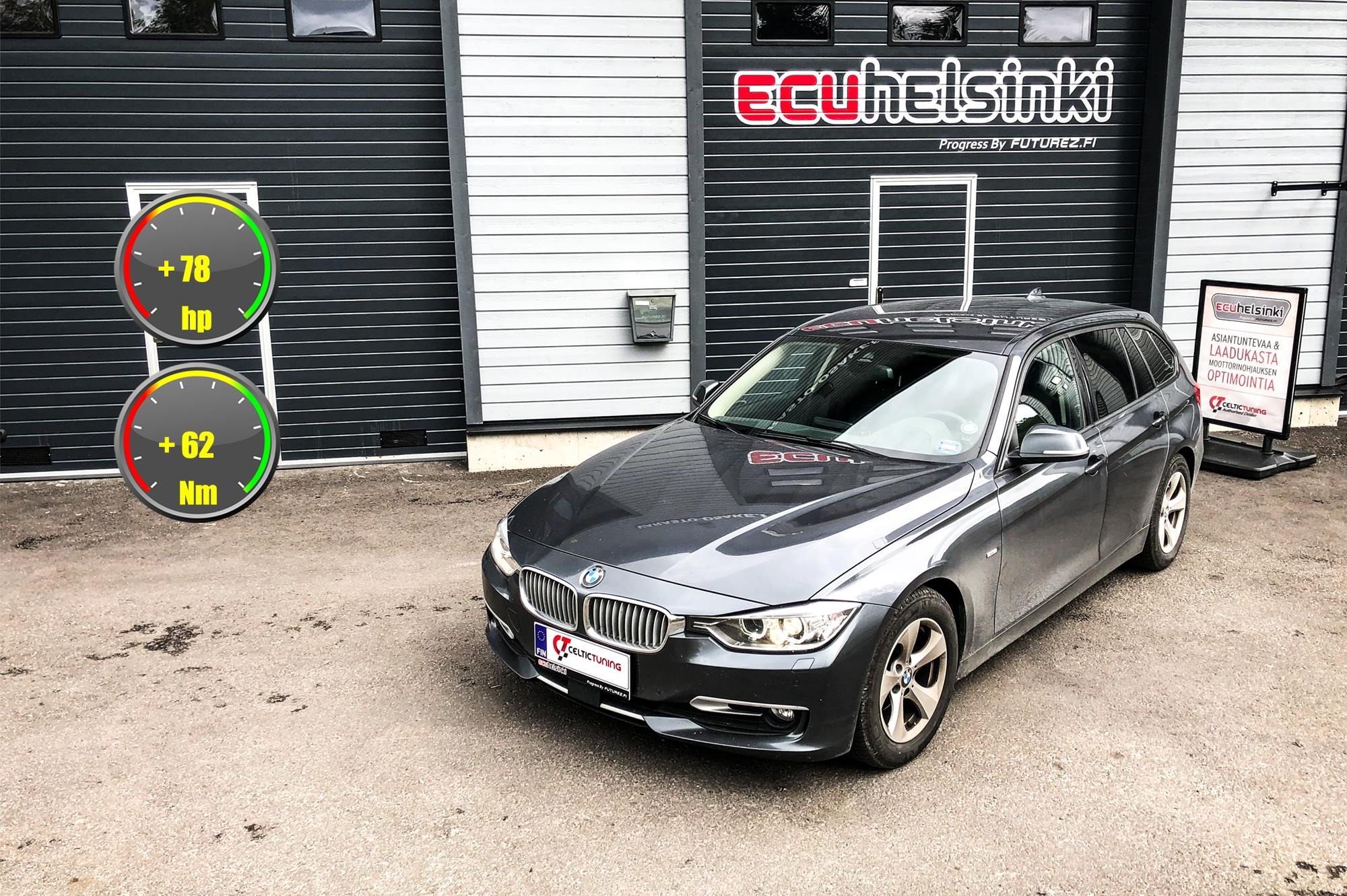 BMW 320D Celtic Tuning Lastutus