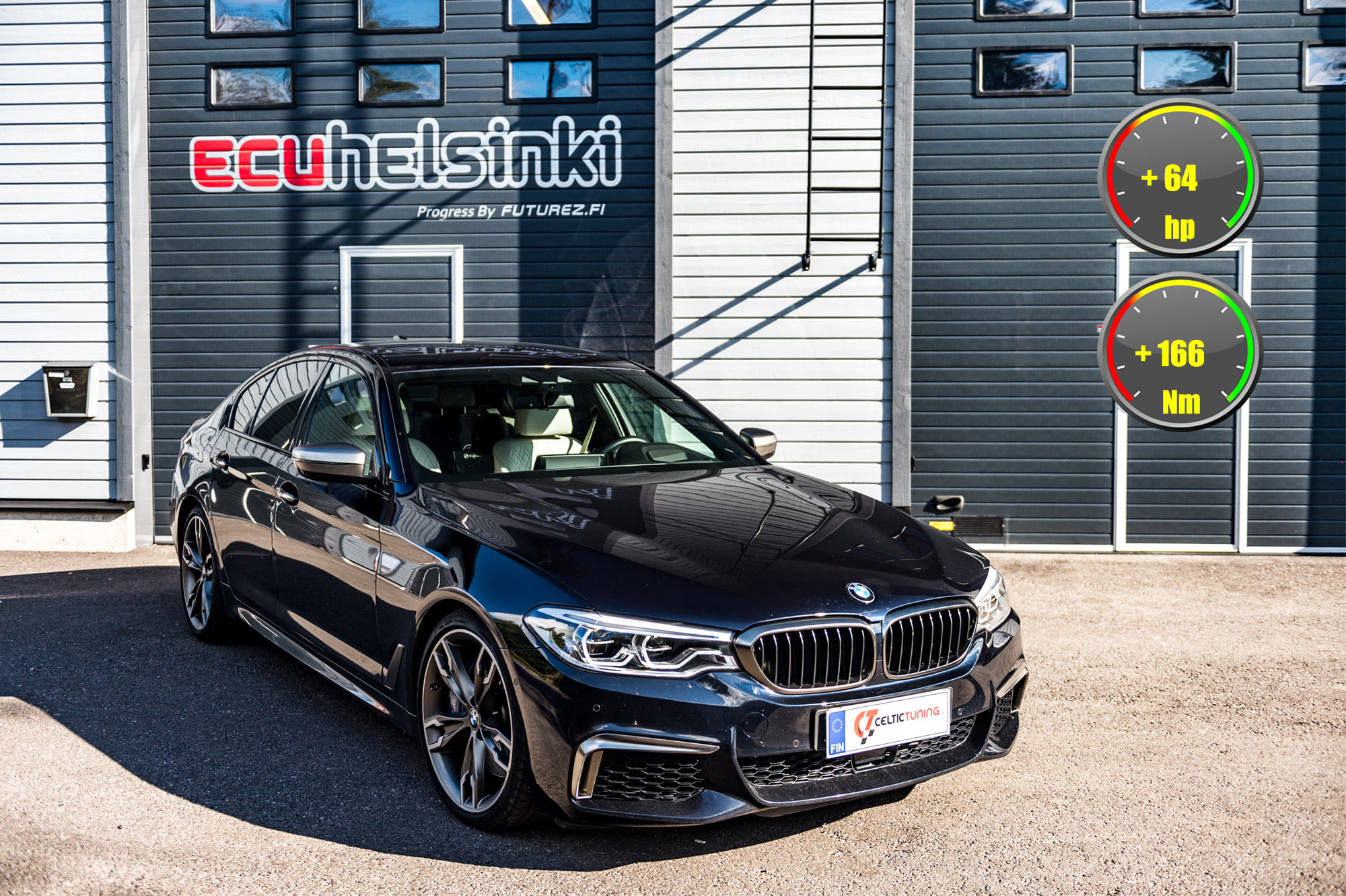 BMW M550i lastu celtic tuning