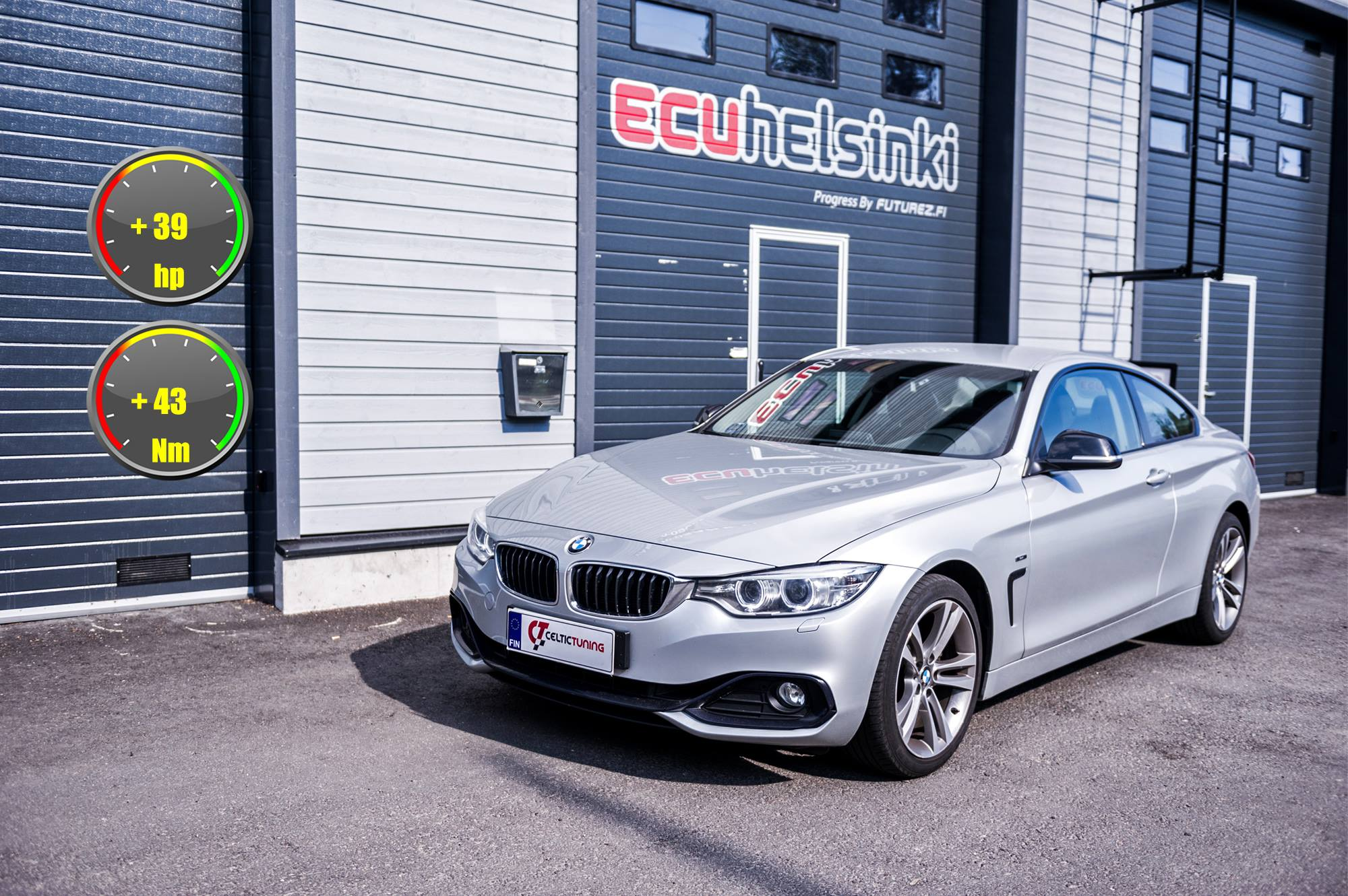 BMW 428i celtic tuning lastutus