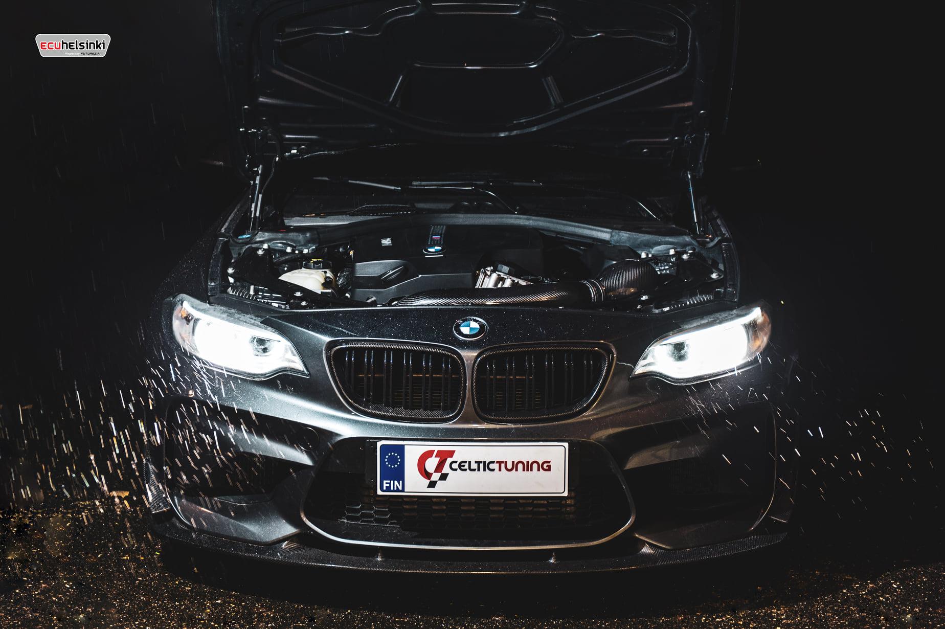 BMW M2 celtinctuning ohjelmointi