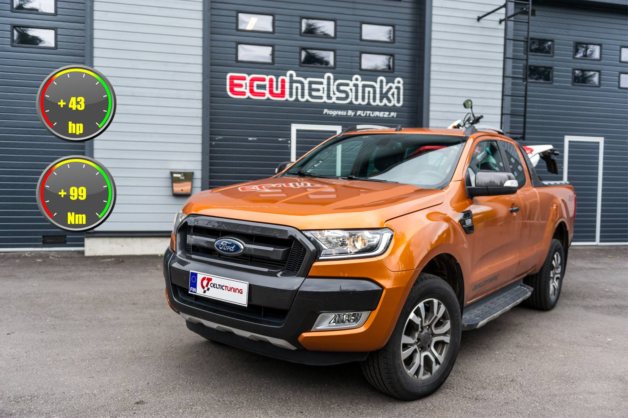 Ford ranger lastutus celtic tuning
