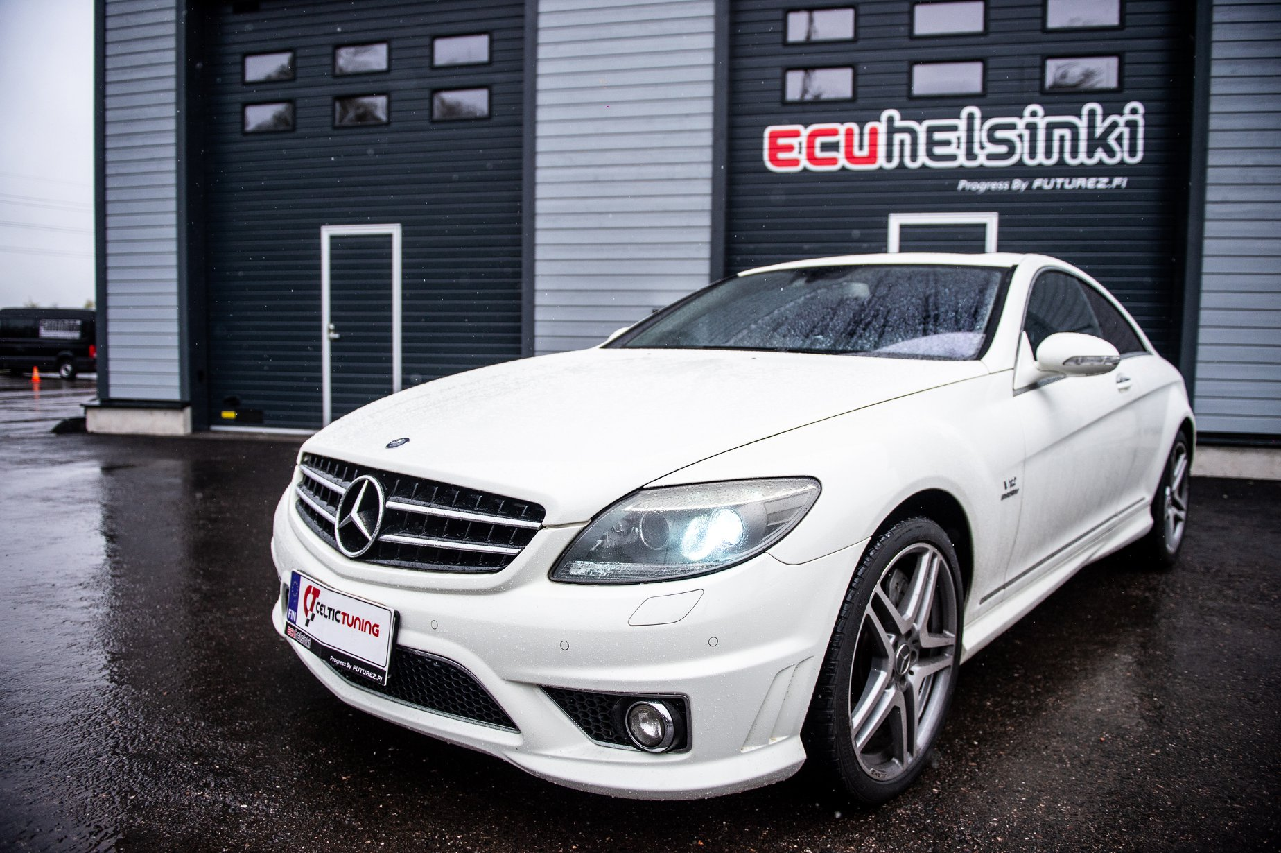 MB CL63 AMG celtic tuning lastutus