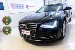 Audi A8 celtic tuning lastutus
