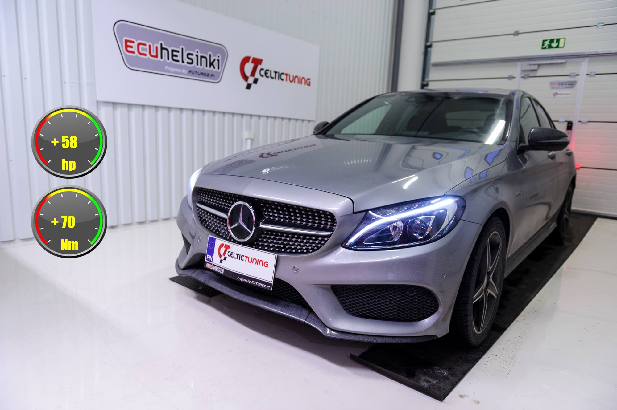 MB C450 AMG Optimointi Celtic Tuning