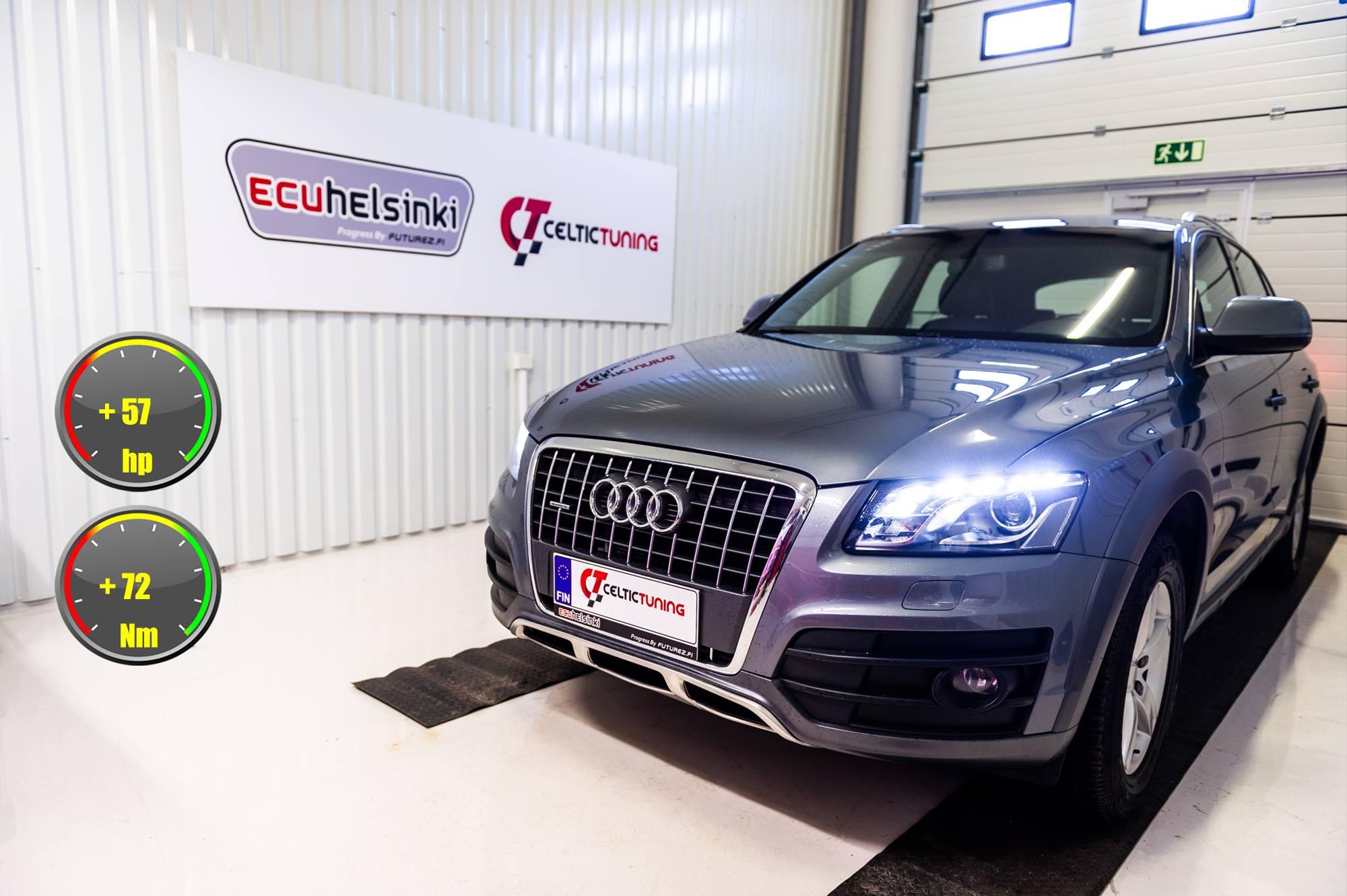Audi Q5 2.0 TDI lastutus celtic tuni