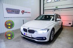 BMW 318D optimointi celtic tuning