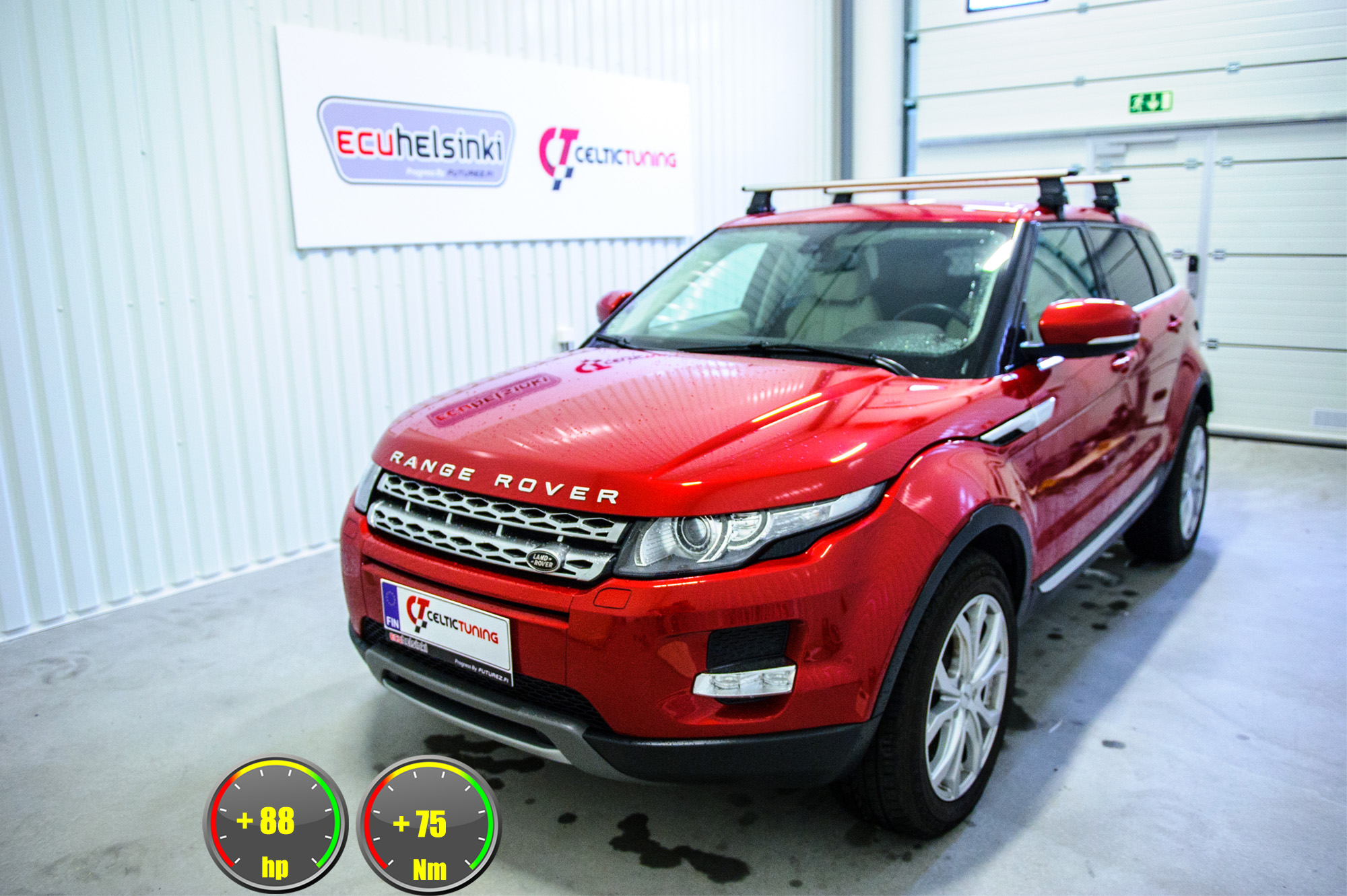 Range rover evoque optimointi
