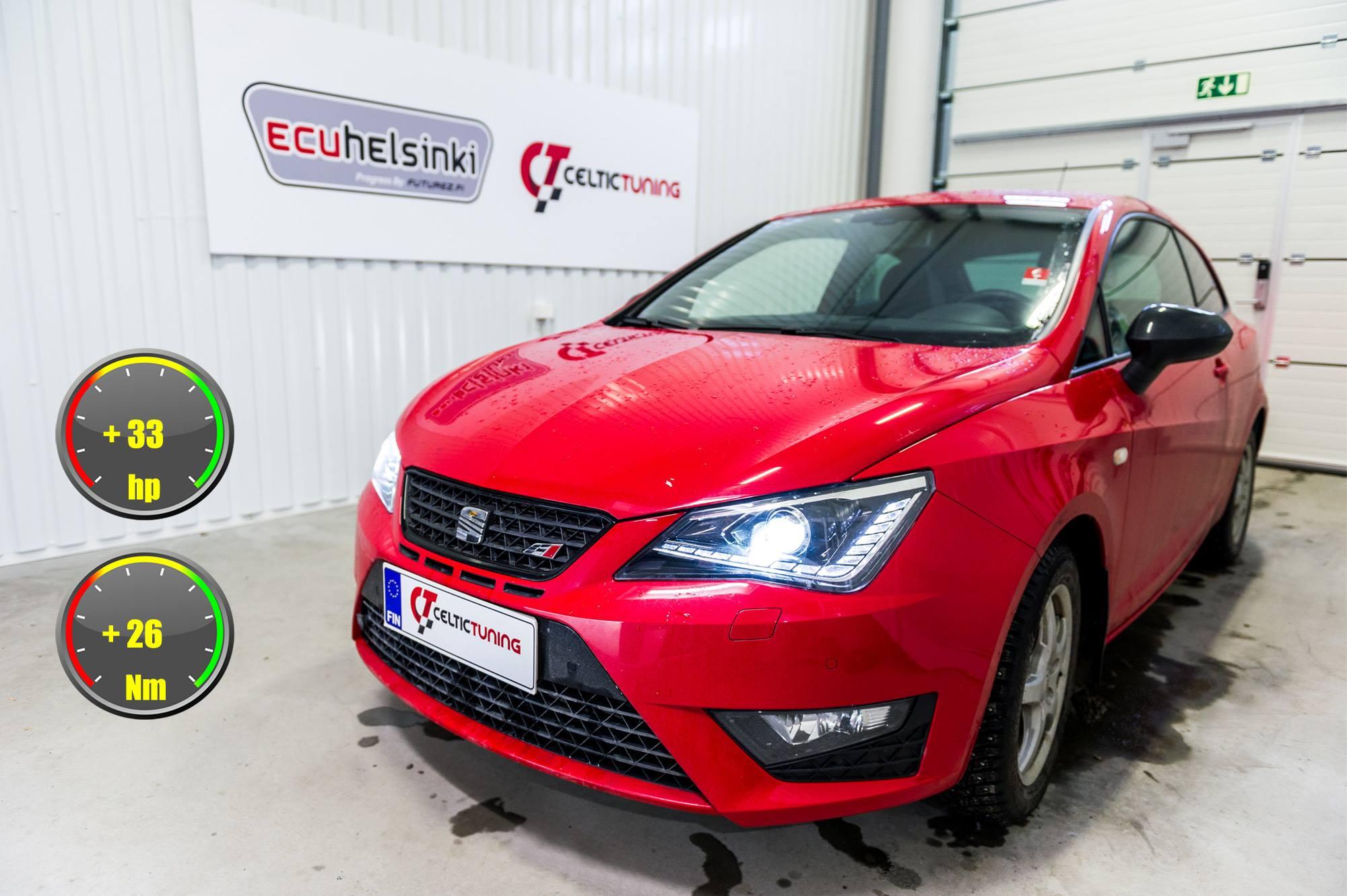 Seat Ibiza Cupra 1.4 TSI opitmointi
