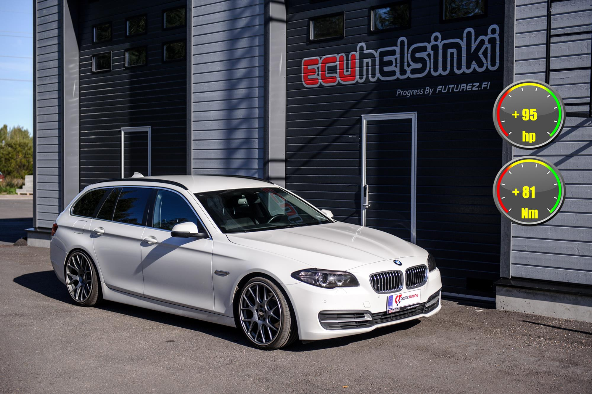 BMW 518D Celtic Tuning Lastutus