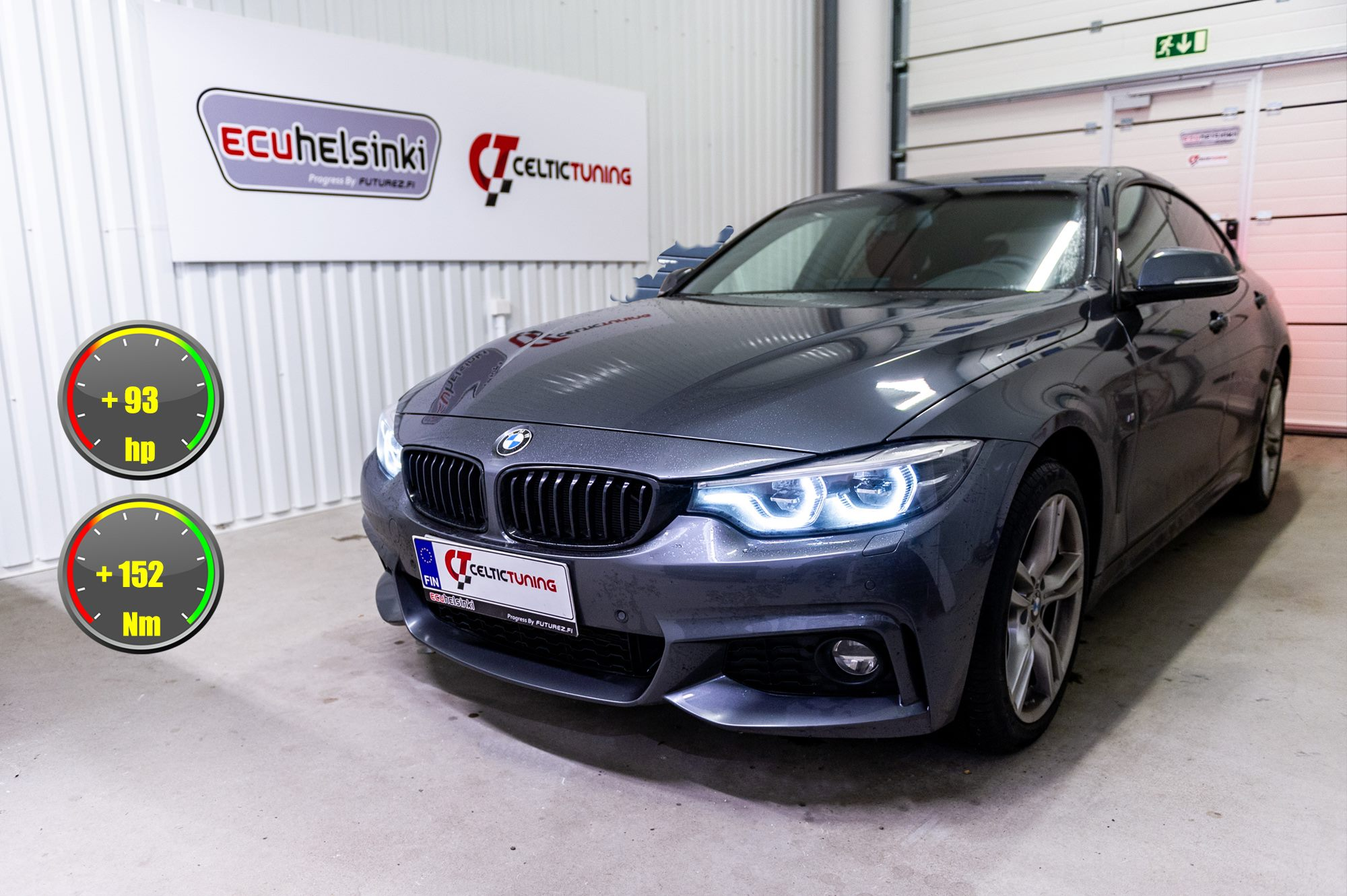 BMW 420i celtic tuning lastutus
