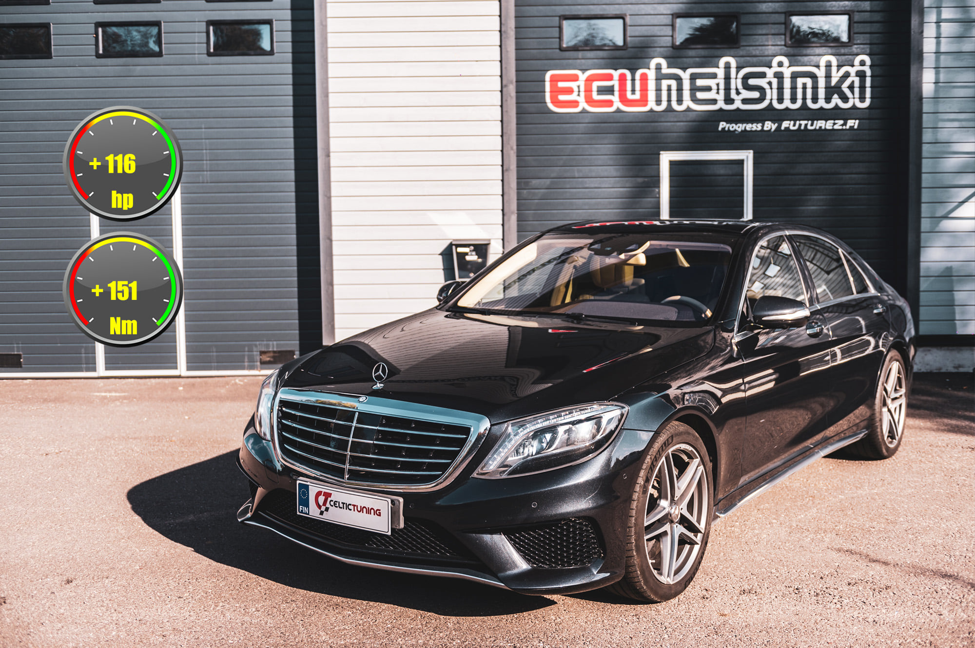 MB S63 AMG lastu celtic tuning