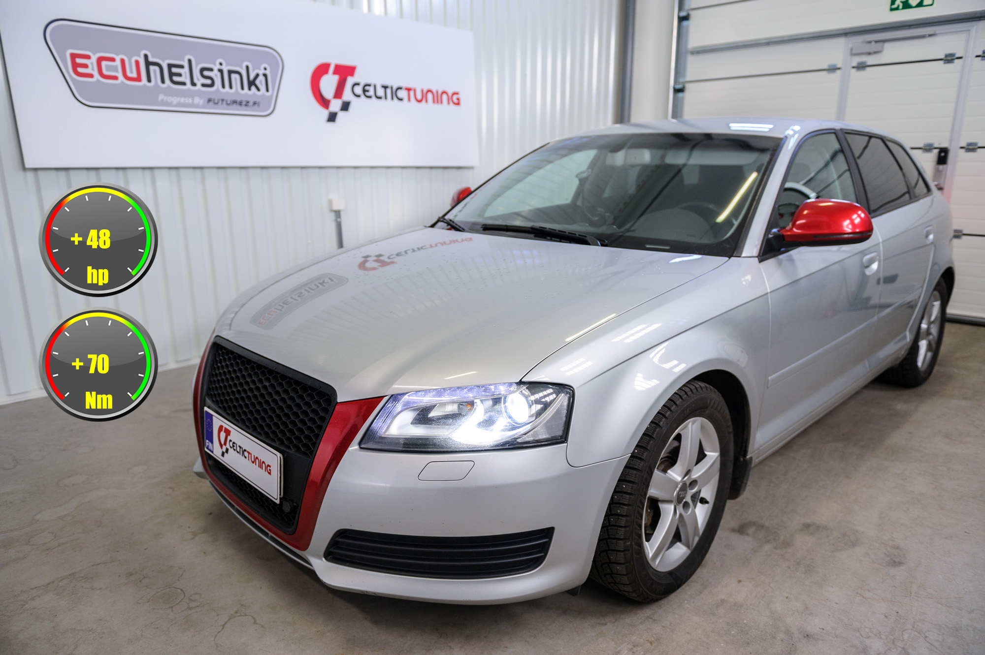 Audi A3 1.6 optimointi celtic tuning