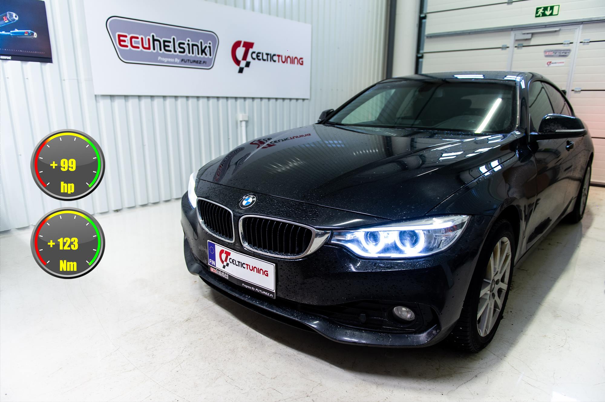 bmw 420i lastutus celtic tuning
