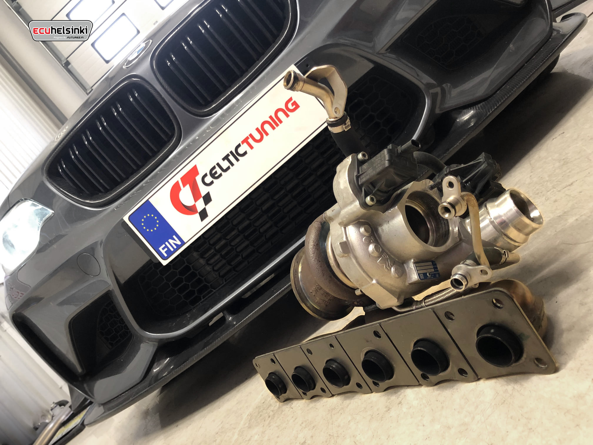 BMW M2 Turbo swap