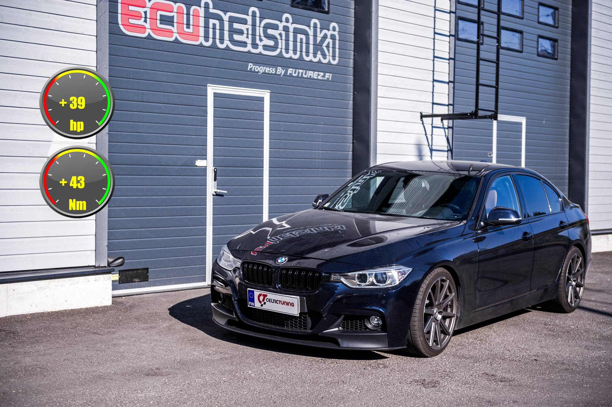 BMW 328i celtic tuning lastutus