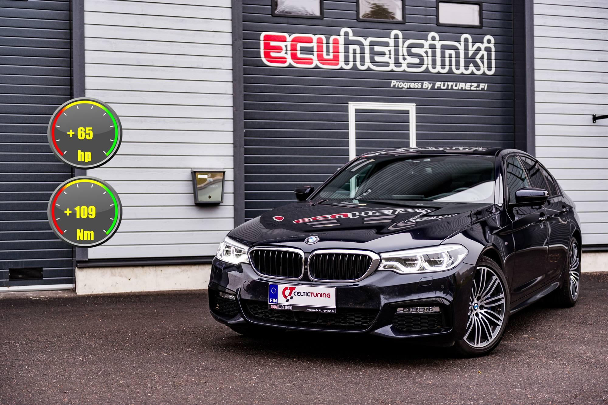 BMW 530D G30 Celtic Tuning Lastutus