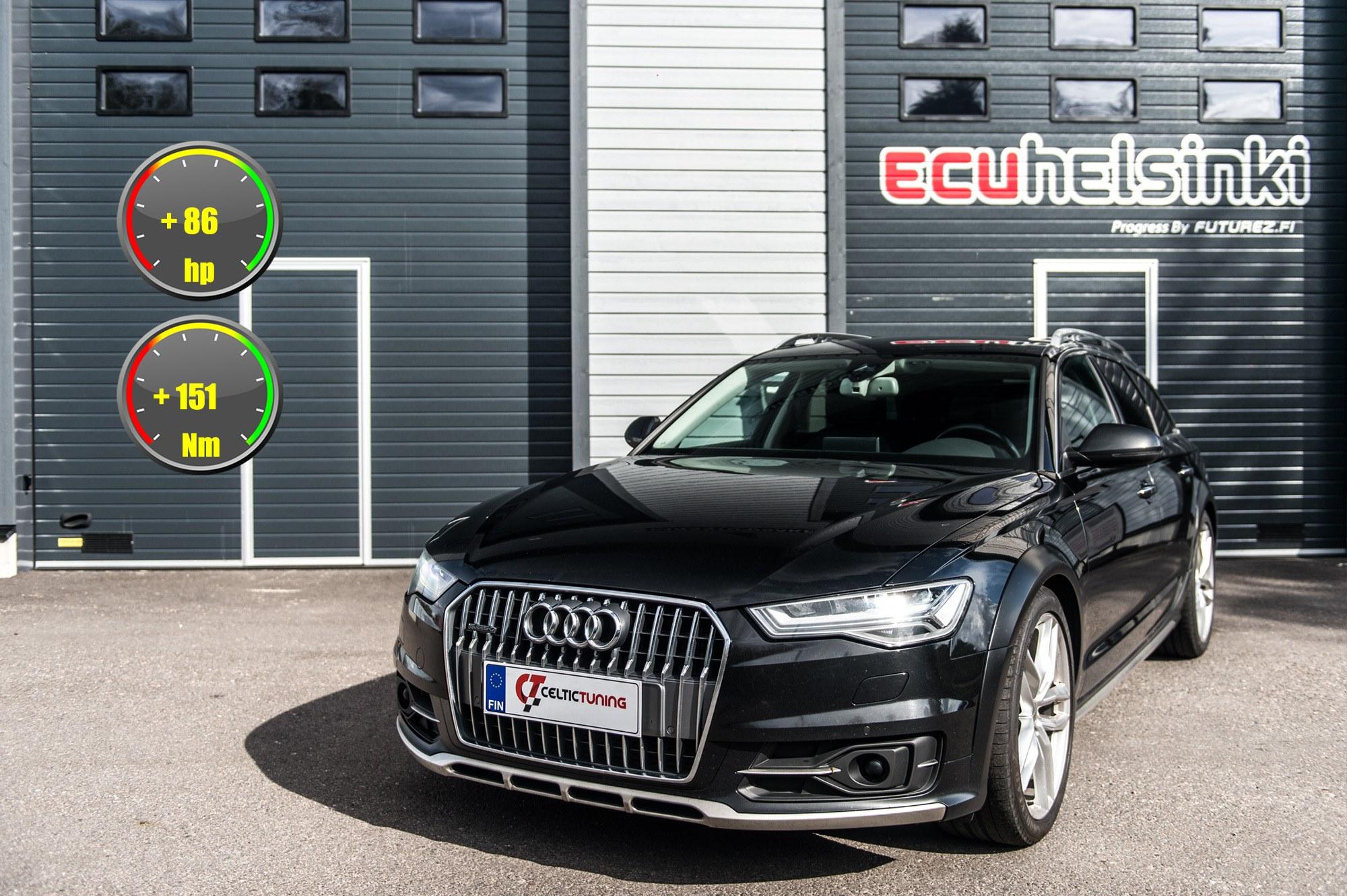 Audi A6 2016 lastu celtic tuning