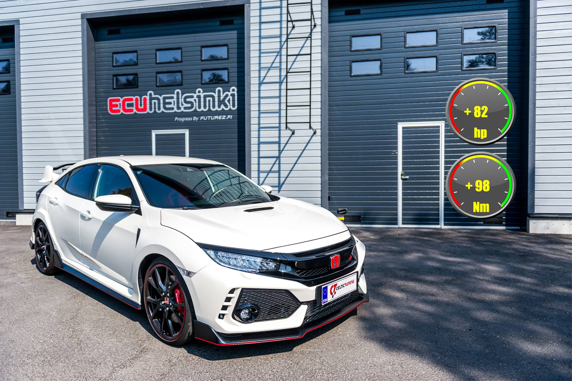 Honda Civic Type-R lastutus celtic