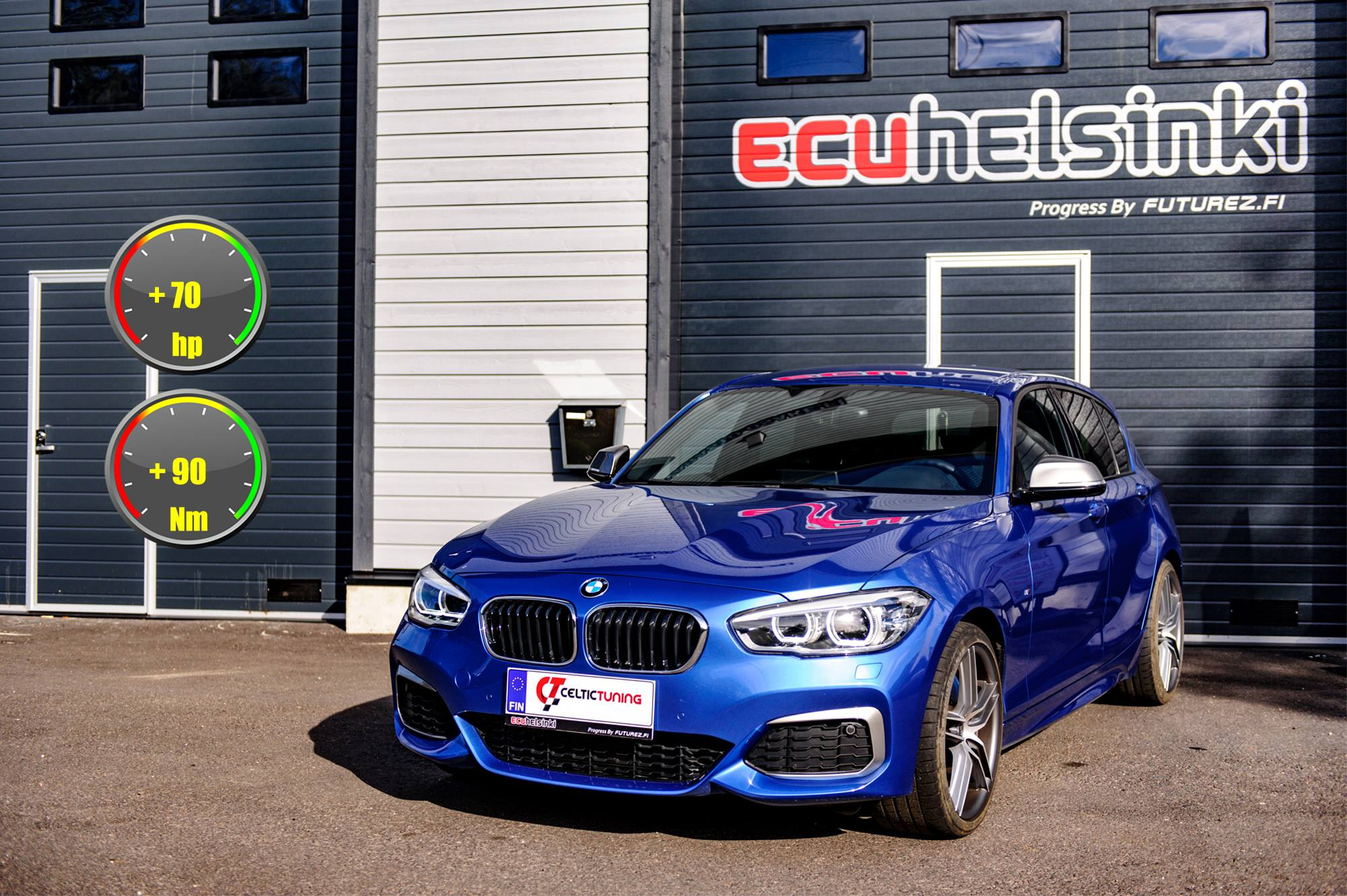 BMW M140i B58 Celtic Tuning Lastutus