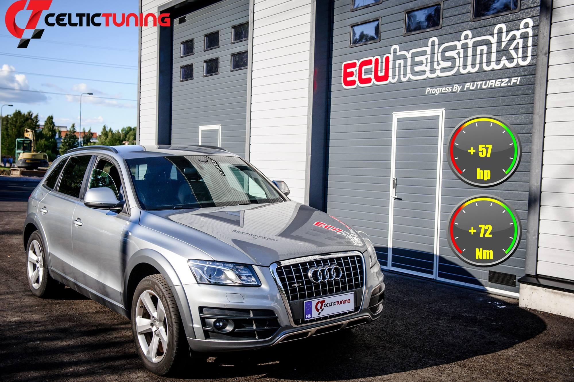 Audi Q5 2.0 TDI optimointi
