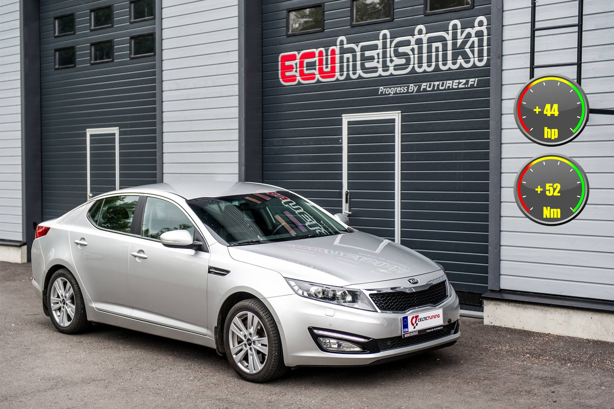 Kia Optima Celtic Tuning Lastutus