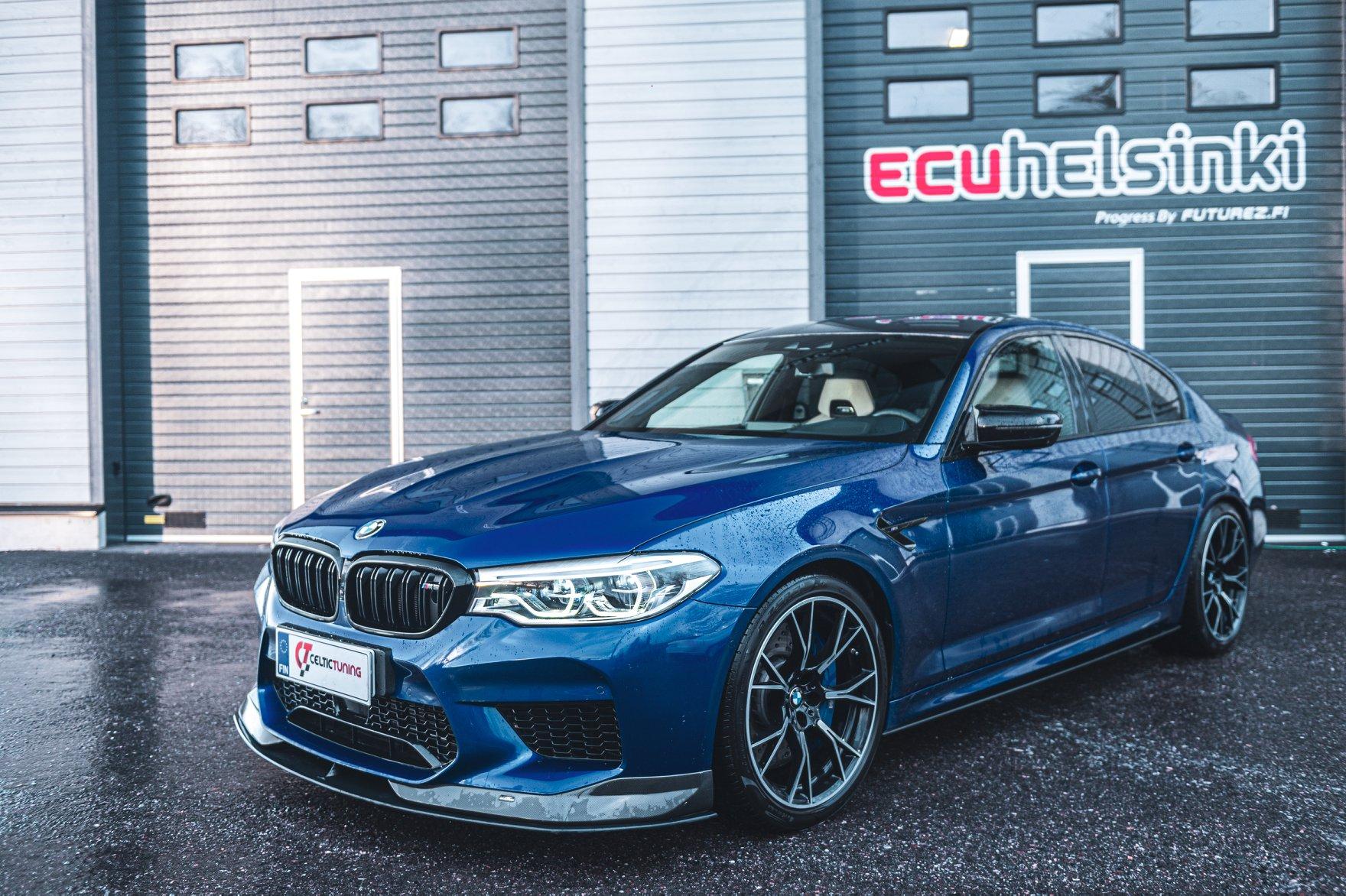 BMW M5 comp ohjelmointi celtic tuning