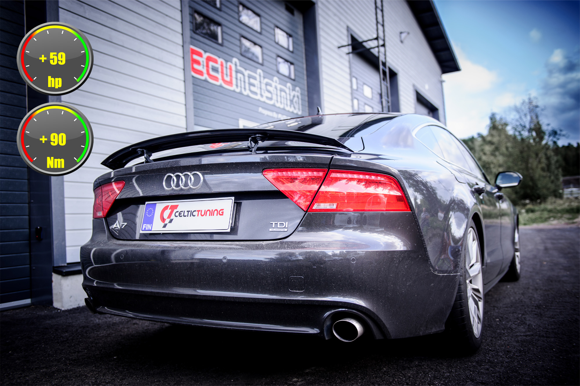audi a7 optimointi celtic tuning