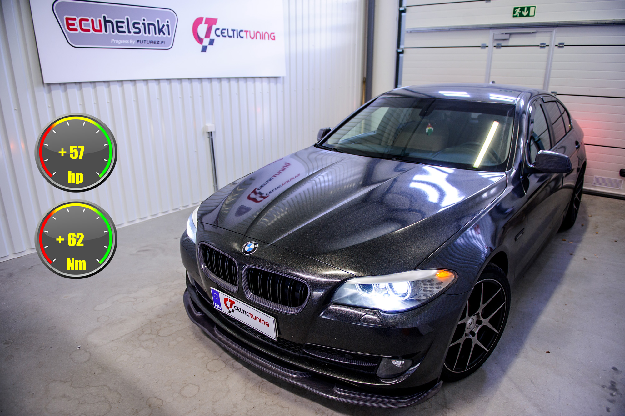 BMW 520D optimointi celtic tuning