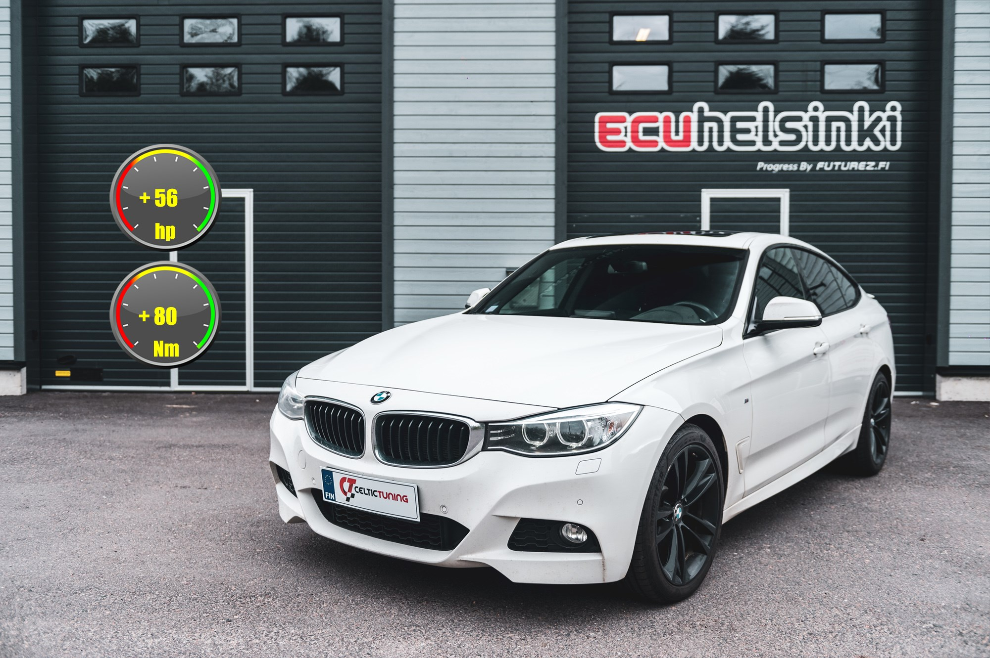 BMW 330D GT viritys celtic tuning