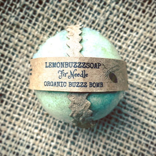 Organic Fir Needle Buzzz Bomb