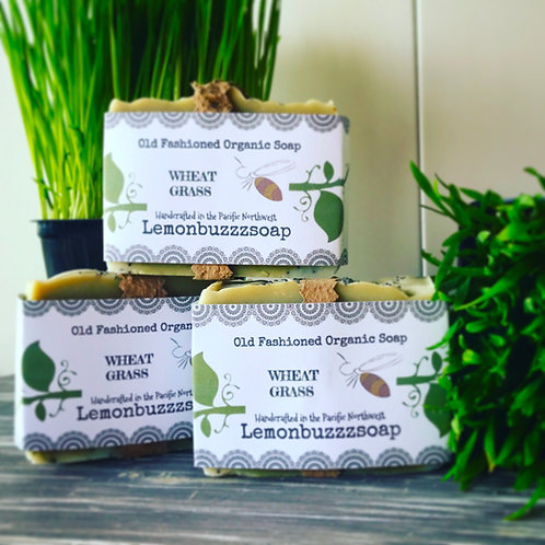 Wheatgrass Organic Soap