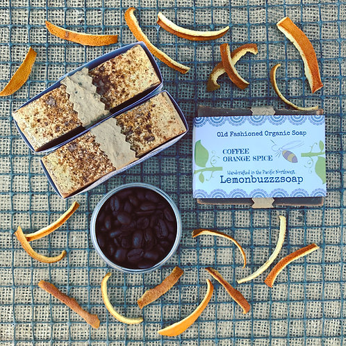 Coffee Orange Spice Organic Soap