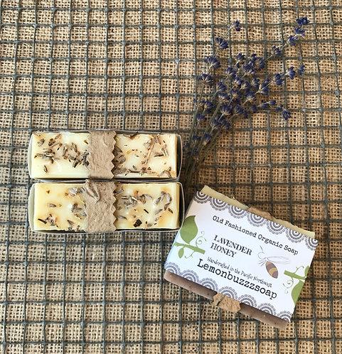 Lavender Honey Organic Soap