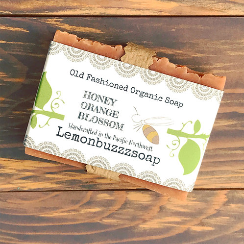 Honey Orange Blossom Organic Soap