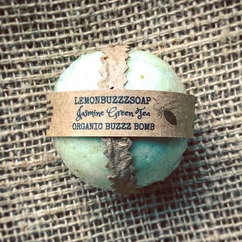 Organic Jasmine Green Tea Buzzz Bomb