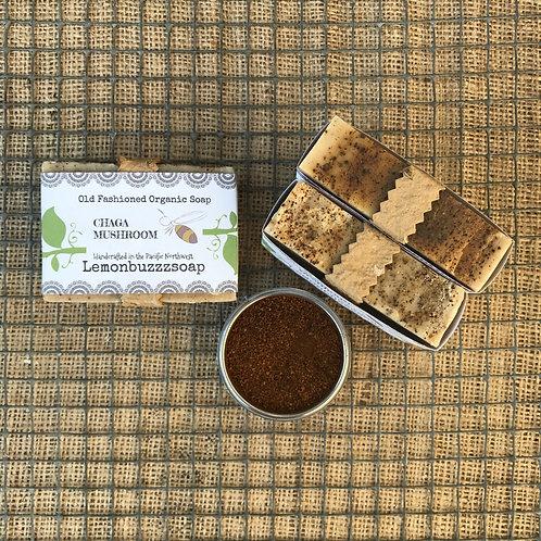 Chaga Mushroom Organic Soap