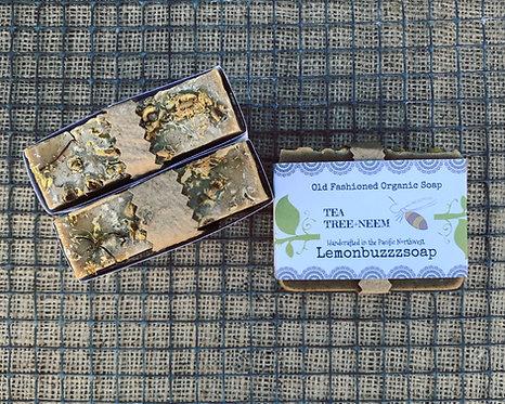Tea Tree+Neem Organic Soap