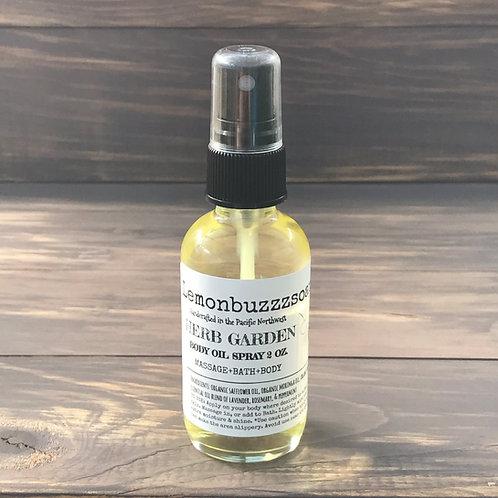 Herb Garden Body Oil Mist