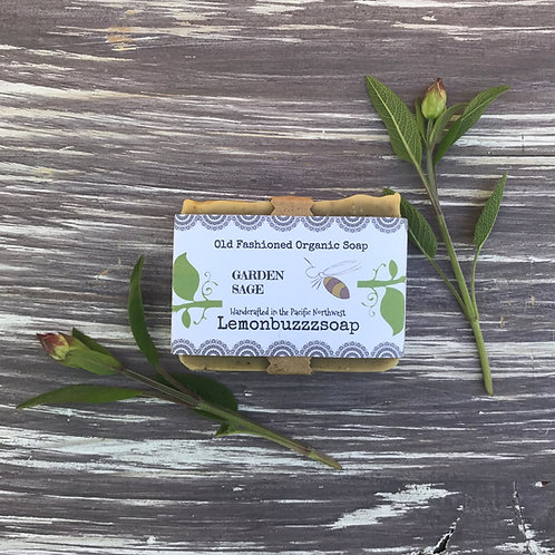 Garden Sage Organic Soap