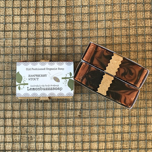 Raspberry Stout Organic Soap