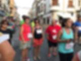 carrera pedestre