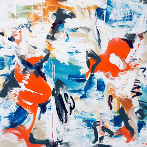 Amber-Goldhammer-abstract-art-Beach-Melo