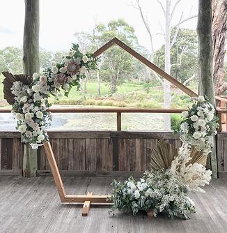 Arch Wedding Flowers Sydney