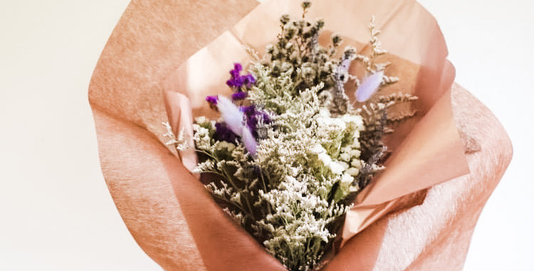 Petite Wrapped Floral Gift Bouquet