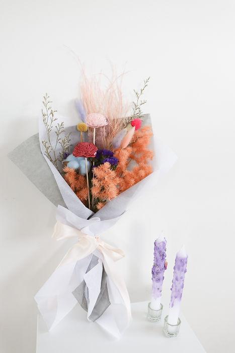 everlasting flower bouquet