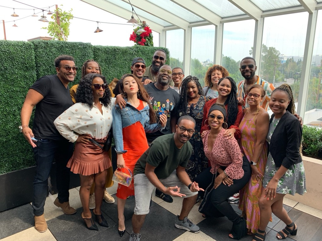 The fabulous writers and cast of Bigger on BET