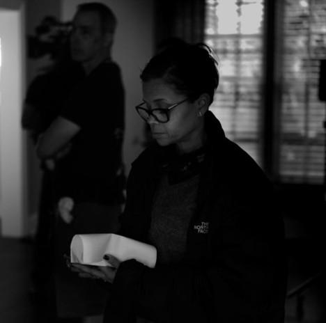 Behind the scenes on Good Girls  Photo Credit: Matthew Lillard