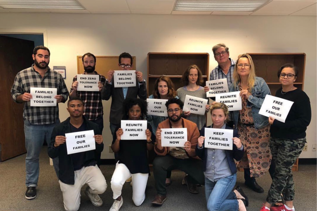 Good Girls Writers' Room supporting #OneVidaAtATime