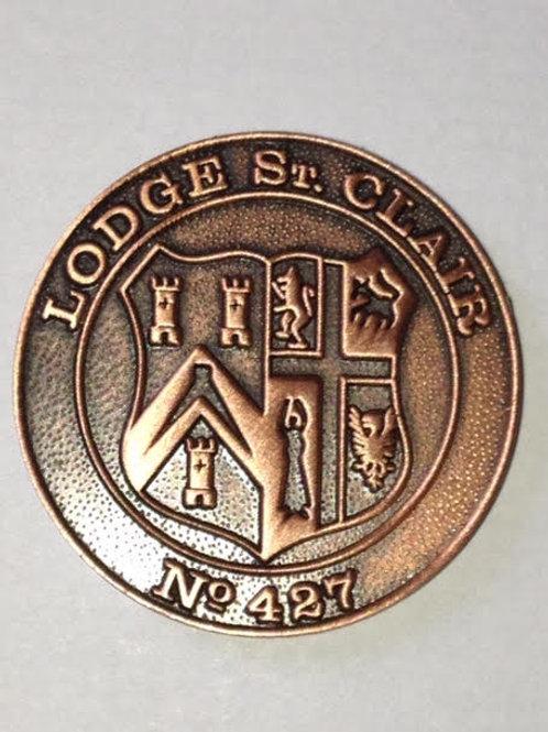 Lodge St Clair No 427 Mark Token