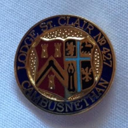 Lodge St Clair No 427 Pin Badge